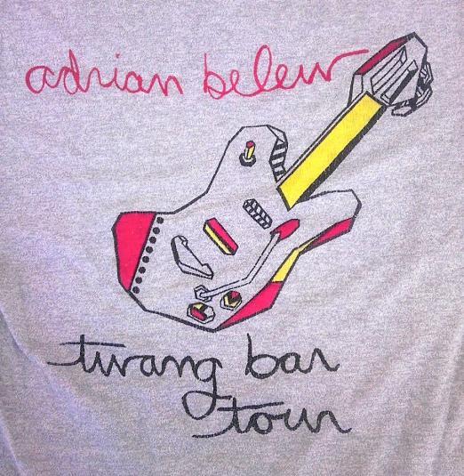 Vintage Adrian Belew King Crimson Twang Bar King Tour 80s