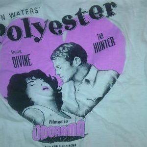 Vintage 1981 POLYESTER movie promo t-shirt