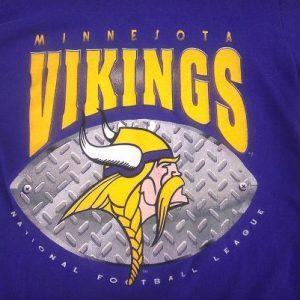 Vintage 1994 Minnesota Vikings Football NFL t-shirt