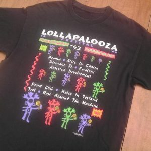 Alice In Chains LOLLAPALOOZA 1993 Tool Primus vintage tshirt