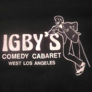 IGBY'S LA Comedy Cabaret West Los Angeles Vintage t-shirt