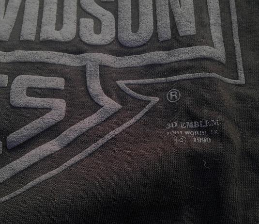 Vintage NOS 3D Emblem Harley Davidson California 1990