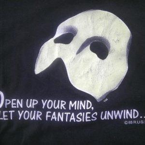 Vintage 1988 Phantom of the Opera Broadway show t-shirt