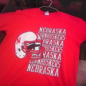 Vintage 90s Cornhuskers NEBRASKA college football t-shirt