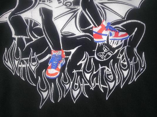 NIKE Icarus 1991-1993 sneaker t-shirt rare vintage t-shirt