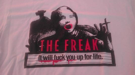 Vintage 1990 The Freak/CRAZY PEOPLE MOVIE crew t-shirt
