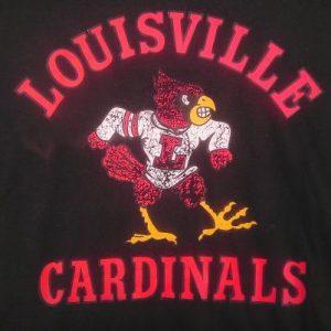 Vintage 1980s Louisville Cardinals t-shirt baseball college