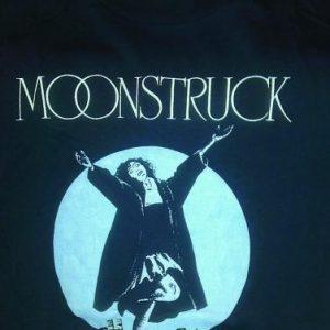 Vintage 1987 Moonstruck movie t-shirt Cher promo 80s
