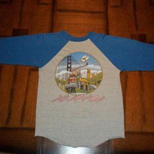 Vintage Journey 1981 San Francisco concert tour t-shirt M