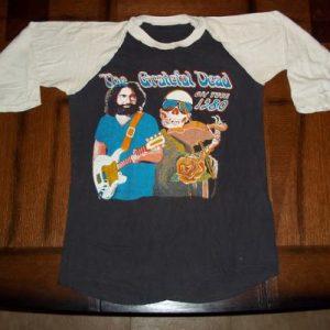 Vintage The Grateful Dead 1980 concert tour Garcia t-shirt M