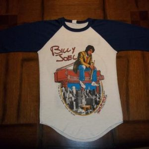 Vintage Billy Joel 1976 New York State Of Mind t-shirt S