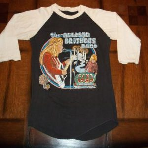 Vintage The Allman Brothers Band 1980 concert t-shirt S