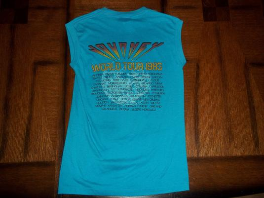 Vintage Journey 1983 Frontiers concert t-shirt SMALL S