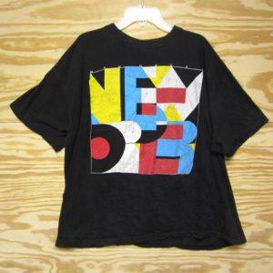 Vintage 80s New Order European Tour T-Shirt 1988