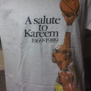 Deadstock Los Angeles Lakers Kareem Abdul Jabbar Tribute