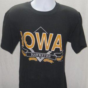 1988 Iowa Hawkeyes 50/50 Vintage T Shirt