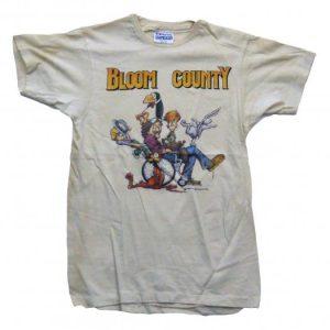 1984 WASHINGTON POST BLOOM COUNTY T SHIRT SMALL