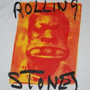 VINTAGE THE ROLLING STONES 72 EXILE ON MAIN STREET T-SHIRT *