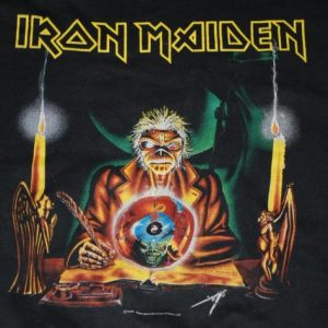 VINTAGE IRON MAIDEN 1988 WORLD TOUR T-SHIRT *