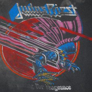 VINTAGE JUDAS PRIEST 1983 WORLD TOUR T-SHIRT