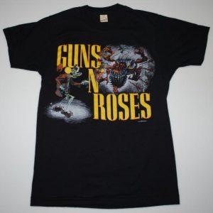 Vintage 1987 Guns N Roses Apetite For Destruction Tour Shirt