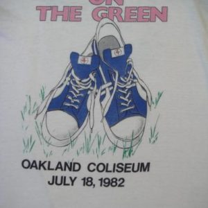VINTAGE IRON MAIDEN 1982 DAY ON THE GREEN T-SHIRT *