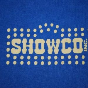 VINTAGE THE WHO 1979 SHOWCO TOUR T-SHIRT