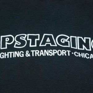 VINTAGE THE ROLLING STONES 1972 UPSTAGING T- SHIRT *
