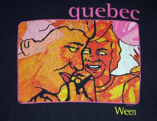 Ween: Quebec 2003 Concert Tour Shirt