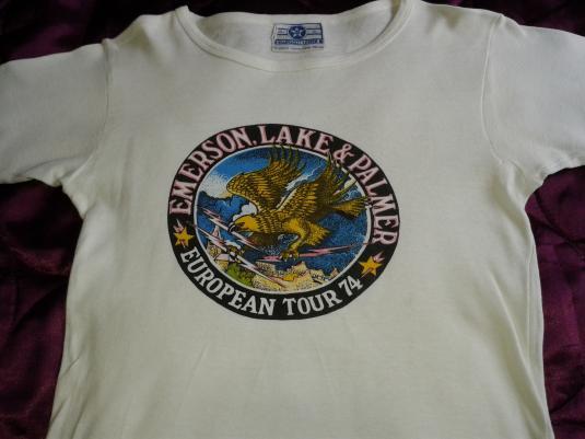 Emerson Lake & Palmer 1974 European Tour