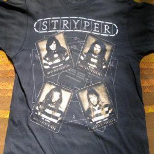 Stryper - Against The Law. Vintage promo tee.