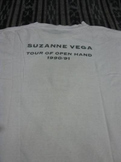 1990 Suzanne Vega – Tour of Open Hand 90/91