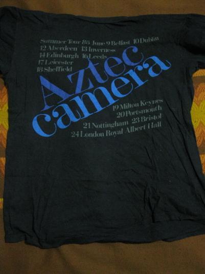 1988 Aztec Camera – Summer Tour Shirt