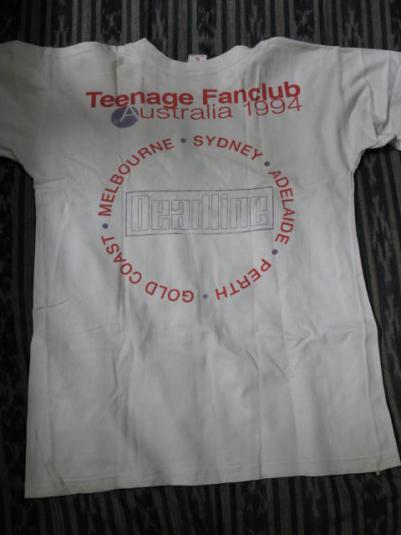 1994 Teenage Fanclub – Australian Tour T-Shirt