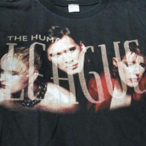 1995 The Human League - Greatest Hits Era T-Shirt