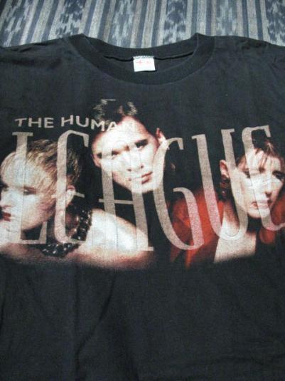 1995 The Human League – Greatest Hits Era T-Shirt