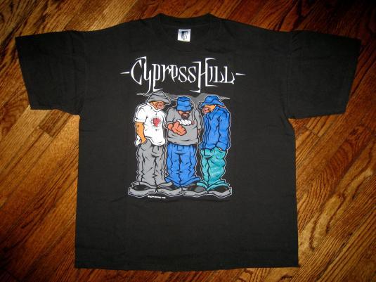 Vintage 1992 Cypress Hill Pass the Blunt hip hop T-shirt xl
