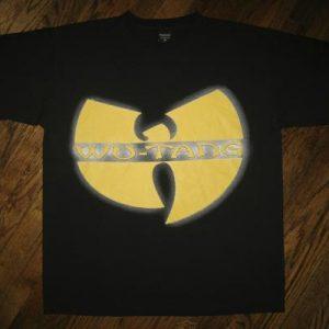 Vintage 1997 Wu-Tang Clan Emblem Promo Forever tour T-shirt