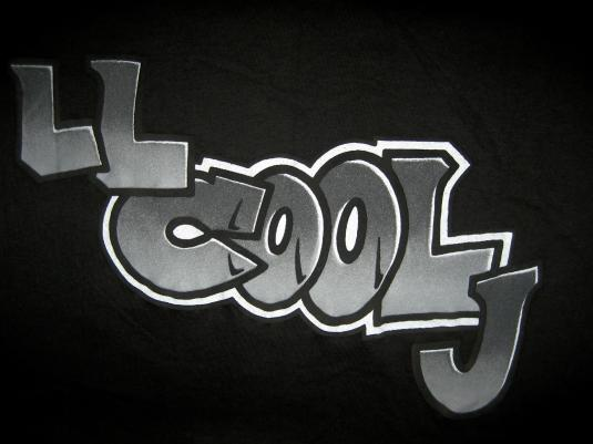 Deadstock vintage 1991 LL Cool J Boomin System T-shirt