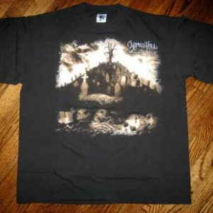 Original 1993 Cypress HILL Black Sunday Vintage T-shirt