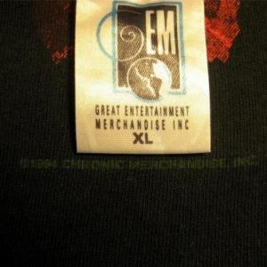 Original vintage 1994 Dr DRE CHRONIC Test T-shirt PUSHEAD
