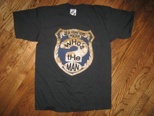 Deadstock vintage 1993 Whos the MAN hip hop movie T-shirt