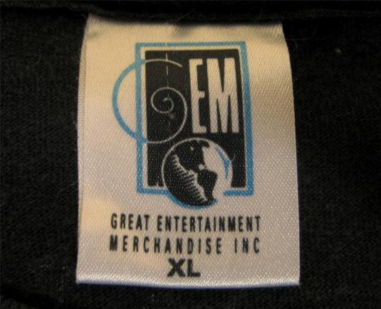 Original vintage 1993 Dr DRE The CHRONIC T-shirt PUSHEAD