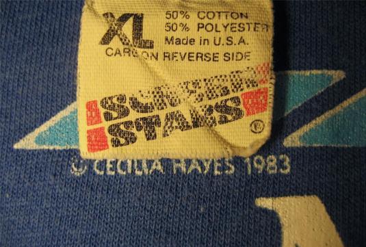 1983 New York Marathon Official Spectator vintage t-shirt