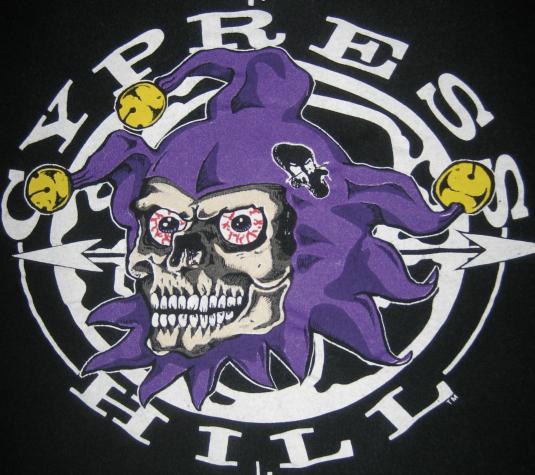 Vintage 1992 Cypress Hill Latin Lingo Stoned Joker T-shirt
