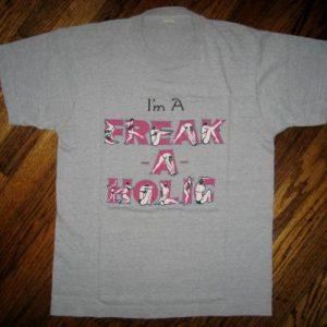 1986 Egyptian Lover FREAK~A~HOLIC Vintage 80s Rap T-Shirt