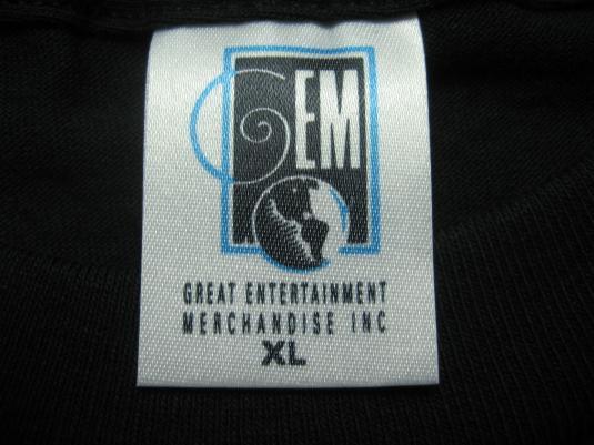 Vintage 1992 House of Pain Fine Malt Lyrics 90s rap t-shirt