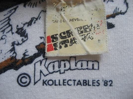 1982 White Castle Legend in a Bun vintage 80s Burger T-shirt