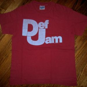 Original Vintage 1985 Def Jam Records Promo T-Shirt