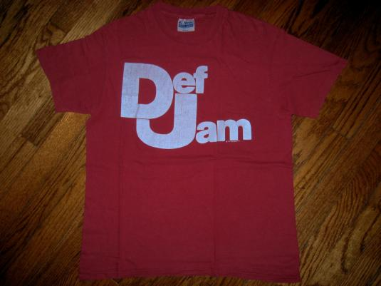 Original Vintage 1985 Def Jam Records Promo T-Shirt